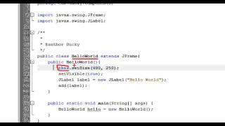 getlinkyoutube.com-Java Swing 2  Location, Size và Visible