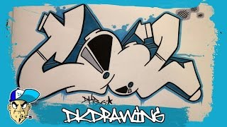 getlinkyoutube.com-How to draw cool graffiti letters step by step