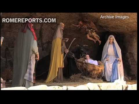 Vatican Nativity scene inspired by landscape of rural southern Italy