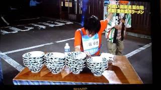 getlinkyoutube.com-Crazy Japanese Noodle Eating Contest
