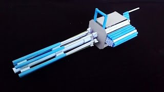 getlinkyoutube.com-How To Make a Paper M134 Minigun (Paper Gatling Gun)