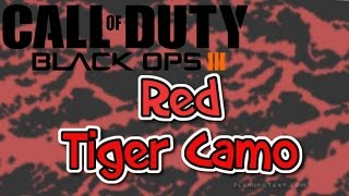 getlinkyoutube.com-BO3: Red Tiger Camo - Paint Job Tutorial