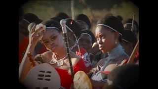 getlinkyoutube.com-Swaziland - Reed dance for King Mswati III