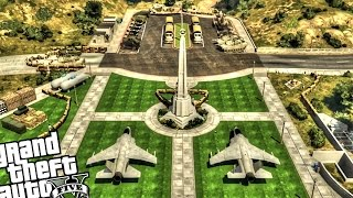 getlinkyoutube.com-Military Safe Zone - GTA 5 PC MOD