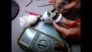 getlinkyoutube.com-Cara Membongkar lampu Hemat energi Philips