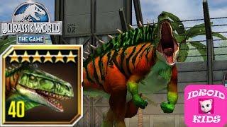 getlinkyoutube.com-OSTAFRIKASAURUS MAX LEVEL - Jurassic World The Game