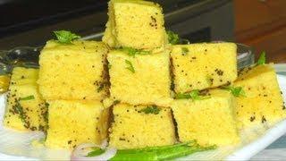 getlinkyoutube.com-Vateli Dal na Khaman Recipe Video - Savory Sponge Cake By Bhavna