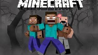 getlinkyoutube.com-How Herobrine Lost His Eyes - Minecraft
