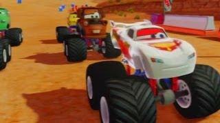 getlinkyoutube.com-Cars Alive! Disney Infinity Gameplay -  Silver Lightning McQueen