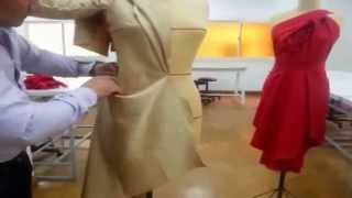 getlinkyoutube.com-Combined Jacket ,  Free style draping, Design No 2