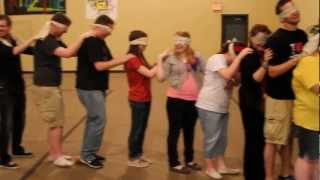 getlinkyoutube.com-Snakes - A Trust and Team Building Activity