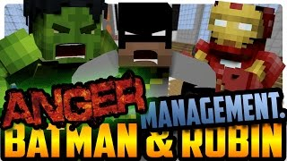 getlinkyoutube.com-Batman's Anger Management! (Minecraft Roleplay) Batman and Robin!