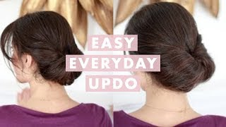 getlinkyoutube.com-Easy Everyday Updo