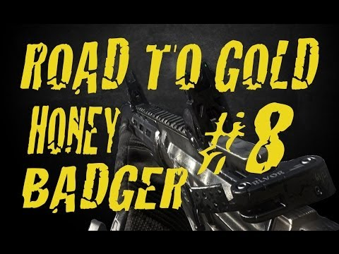 COD : GHOSTS - Road To Gold Honey Badger Ep.8 - REMONTADA MORAL!