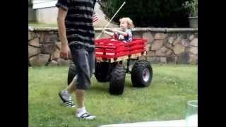 getlinkyoutube.com-Boss Hauler Custom Kids Wagon