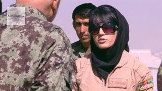 First Fixed-Wing Combat Sortie Flown by an Afghan Air Force Female Pilot