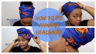 How to Tie Ankara Headwrap