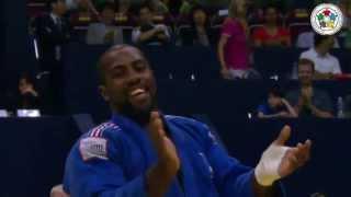getlinkyoutube.com-JUDO 2013 World Championships: Teddy Riner (FRA) - Rafael Silva (BRA)