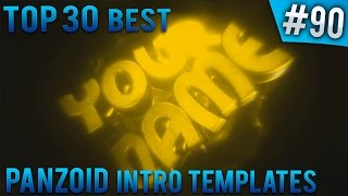 getlinkyoutube.com-TOP 30 BEST Panzoid intro templates #90 (Free download) [Read desc]
