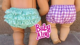 getlinkyoutube.com-BABY ALIVE Opening Baby Clothes & Accessories!