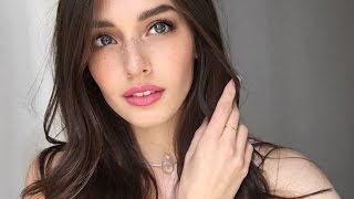 getlinkyoutube.com-Natural Bronze Eye and Pink Lip Tutorial | Jessica Clements