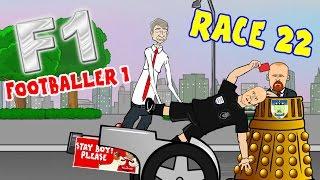 getlinkyoutube.com-🚦Footballer 1:RACE 22🚦(Wenger push, Xhaka red, Rooney breaks Charlton's record!)
