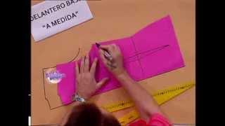 Hermenegildo Zampar - Bienvenidas TV - Explica el molde base del delantero.