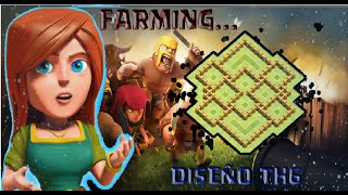 getlinkyoutube.com-Diseño de Aldea AYUNTAMIENTO 6 - FARMING - Clash of clans