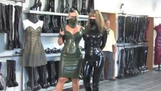 getlinkyoutube.com-Modenschau Latex fashion design Wiesbaden Juli 2013 2 2