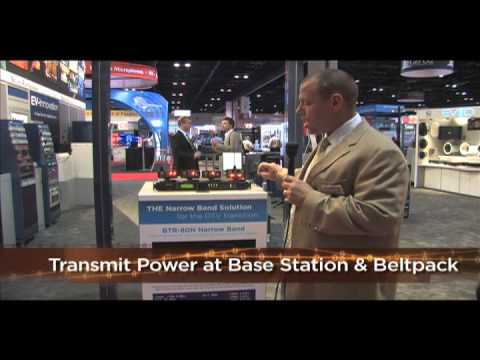 Telex Narrow Band Wireless Intercom System at InfoComm 2009