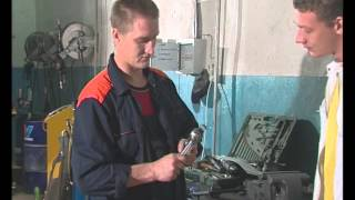 ремонт шаровой технология заливки