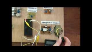getlinkyoutube.com-Inversor DC- AC con Switcheo y cargador de baterias
