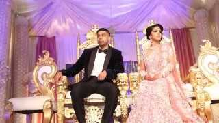 getlinkyoutube.com-Asian Wedding Video | Walima| Bolton Excellency