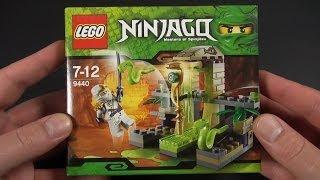 getlinkyoutube.com-LEGO - Ninjago  - Jumping Snake Trap (Schlangenfalle) Unboxing