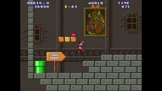 Mario Forever : World X by Antonio Valentin Walkthrough [HD]