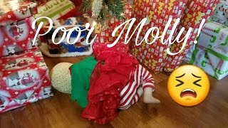 getlinkyoutube.com-NAUGHTY MOLLY IS UPSET! SEARCHING FOR PRESENTS! REBORN BABY DOLL THAT TALKS!