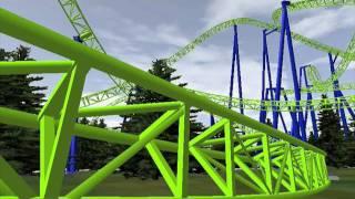 getlinkyoutube.com-No Limits - Element_56 - An 11 Inversion Coaster