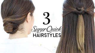getlinkyoutube.com-Superquick hairstyles tutorial