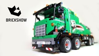 getlinkyoutube.com-Lego Technic 42008 Service Truck - Lego Speed build