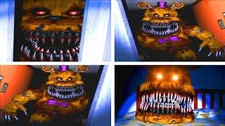 getlinkyoutube.com-Five Nights at Freddy's 4 All Golden Fredbear Jumpscares