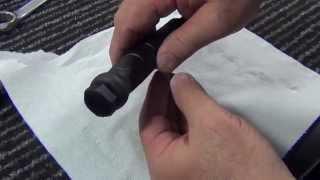 getlinkyoutube.com-Add a Glassbreaker/Hammer to Glock Field Knife in 45 Minutes