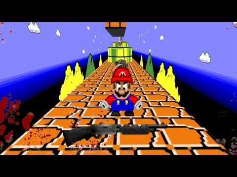 OFFENSIVE FIRST PERSON MARIO