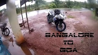 Bangalore to Goa | Vlog 2 | Yzf R15s | First long Ride