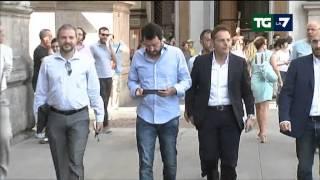 5 luglio 2015 AM, ITALIA, Puntata La7, TG News, Titoli