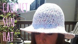 Crochet Sun Hat   Pattern & Tutorial