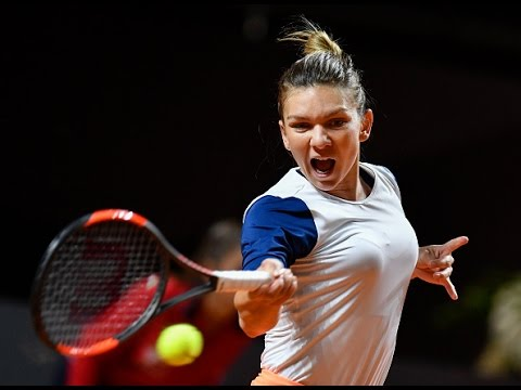 Halep vs Strycova 2017/04/26 Highlights