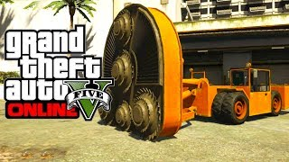 "GTA 5 Online: Secret Cars ""HVY CUTTER"" (GTA V)"