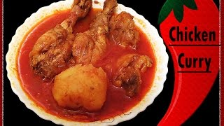 getlinkyoutube.com-Bengali Chicken Curry Recipe//Murgir Jhol//Bengali chicken curry with potatoes (mangshor jhol)=RCC26