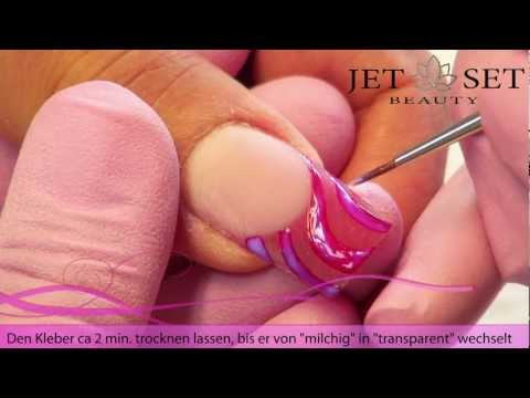 Magic Transfer Folie Nailart Design Saida Nasirova www.jet-set-beauty-store.de