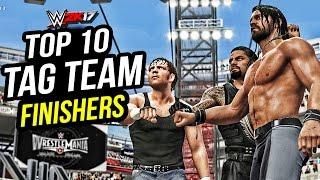 getlinkyoutube.com-WWE 2K17 - Top 10 Tag Team Finishers! PS4 & XBOX ONE
